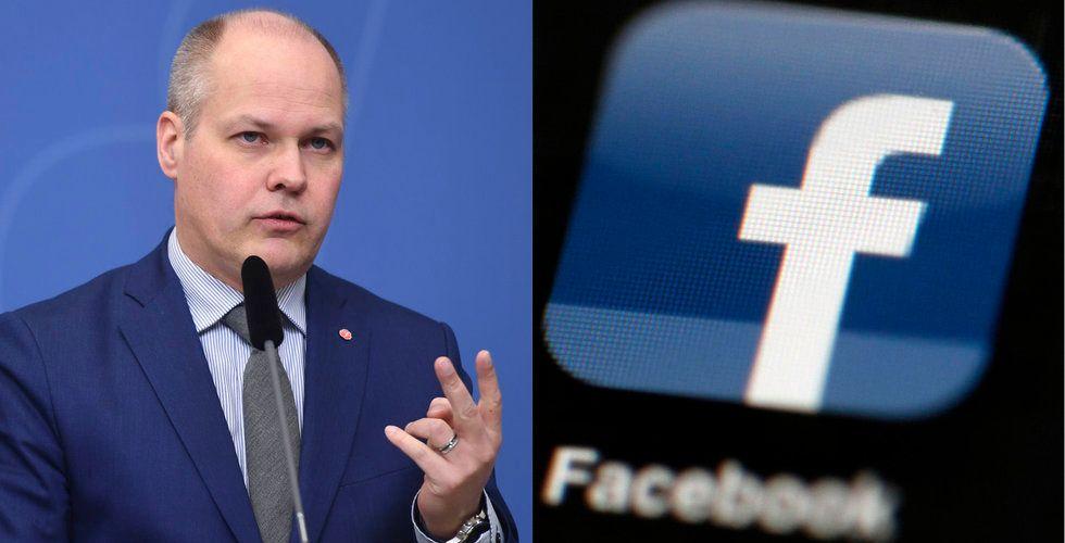 """Facebook nobbar svenska ministermötet: """"Mycket uppseendeväckande"""""""