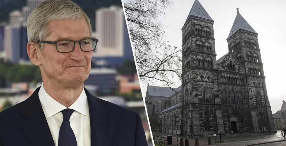 Apple startar hemlig utvecklingsavdelning i Lund