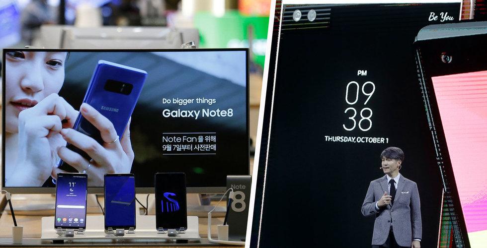 Breakit - Samsung och LG gör inte sina mobiler långsammare på grund av sämre batterier