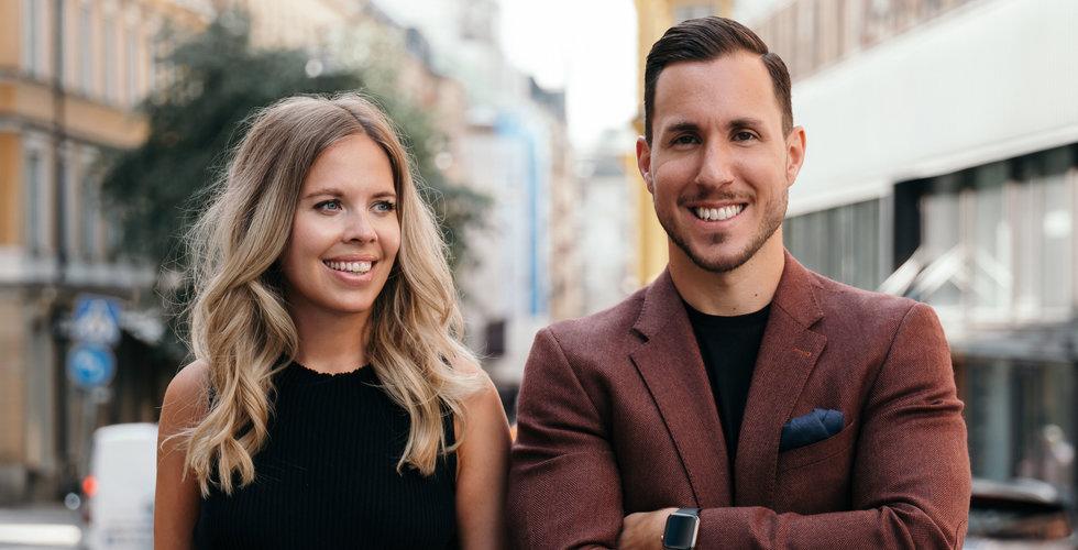 Caroline Lidman och Aleksandar Goga skriver bok om entreprenörskap