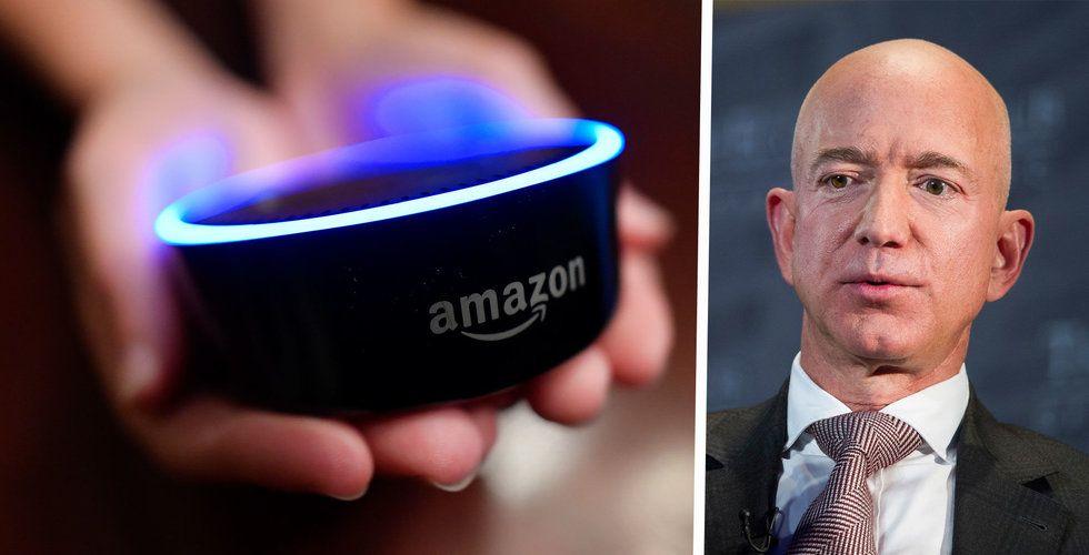 Amazon-topp hoppar av