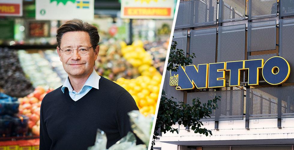 Coop gör jätteaffär – köper Netto i Sverige