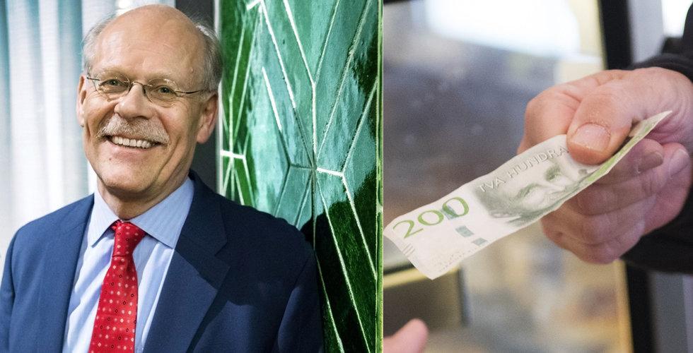 Stefan Ingves: Alla ska kunna betala med kontanter – och vi behöver en e-krona