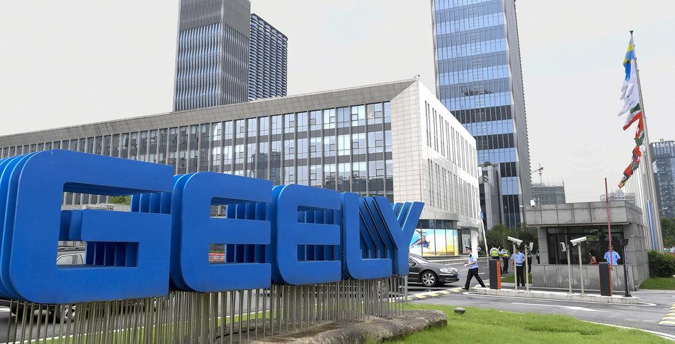 Geely föll rejält efter svag försäljningsprognos för 2019