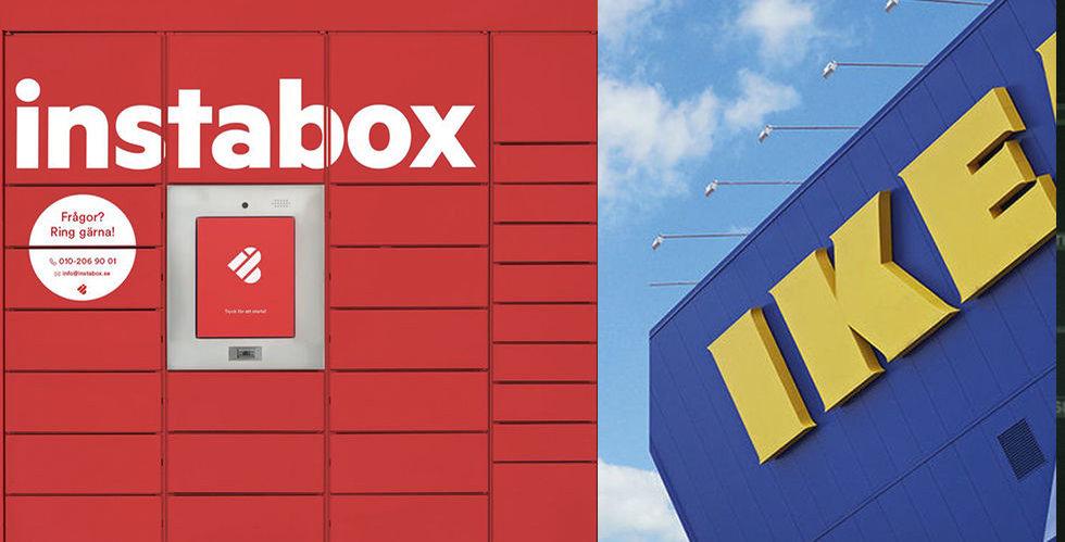 Ikea testar Instabox för att förbättra e-handeln