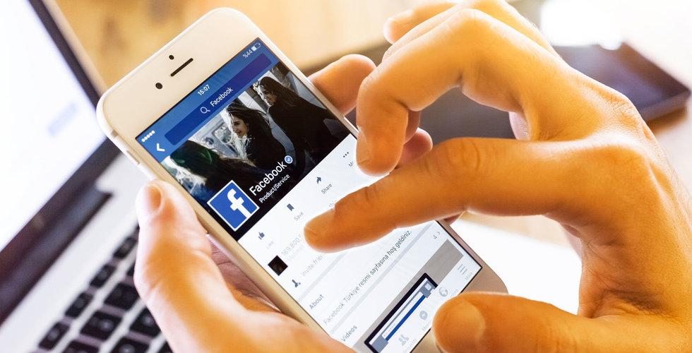 Breakit - Facebook förlorade 2,8 miljoner unga användare under 2017