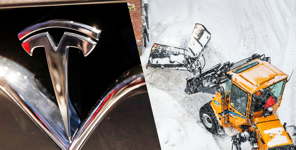 Vintern ställer till det för Tesla-ägare – kämpigt i kylan