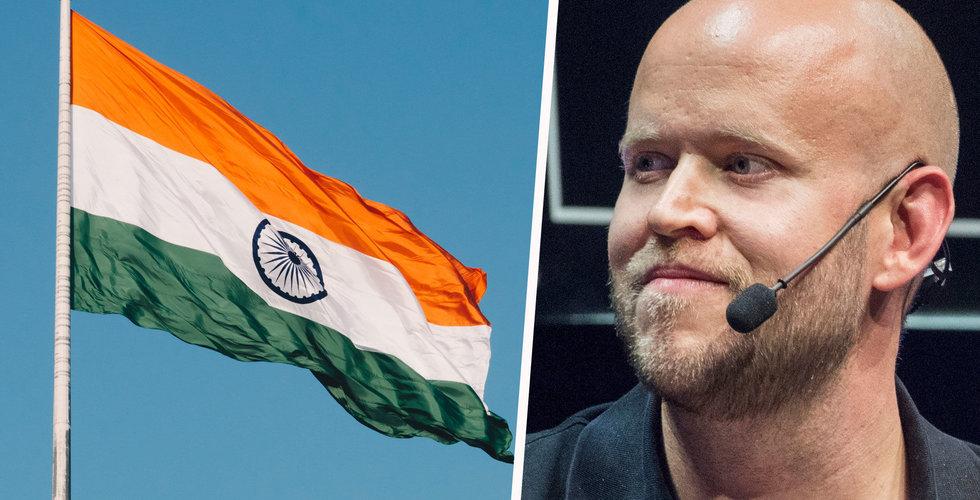 Spotify överens med Warner i Indien