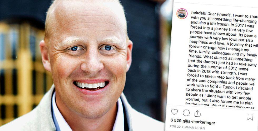 """Henrik Persson Ekdahl om kampen mot svåra sjukdomen: """"Jag skrev mitt testamente"""""""