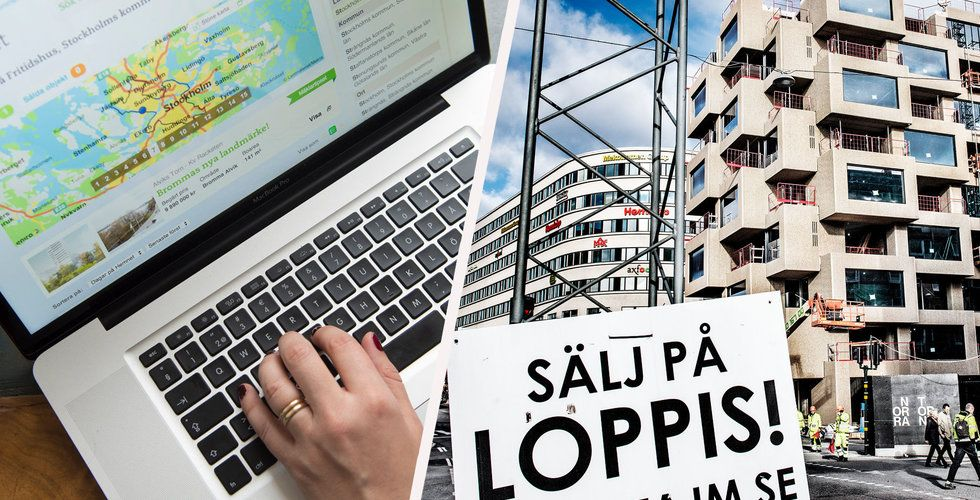 Krisen för nyproduktion på bostadsmarknaden – en jackpott för Hemnet
