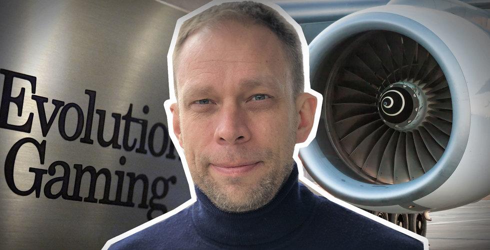 Miljarder till grundarna och aktien rasar – men Evolution har en flygmotor kvar