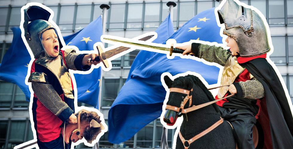 Nu fattar EU ödesbeslut om internet – vad bråkar alla om?