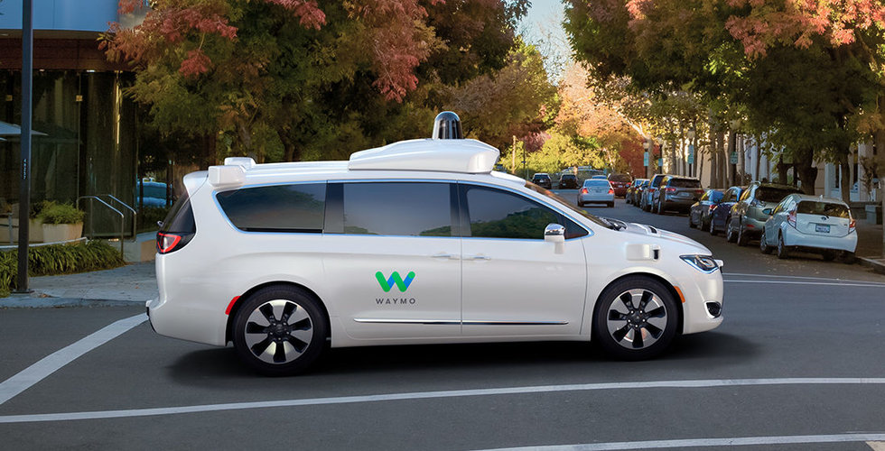 Waymo-bil involverad i krasch i Arizona