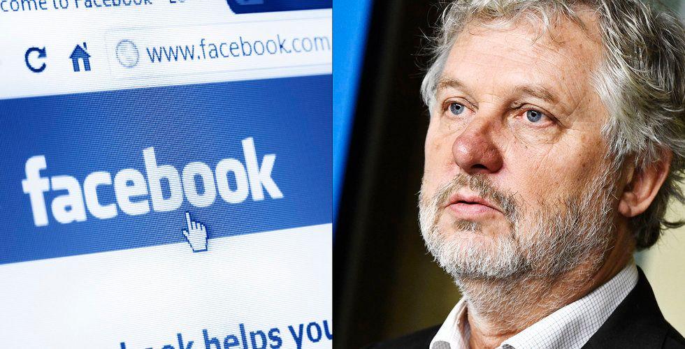 """Breakit - Peter Eriksson träffade Facebook: """"Gjort alldeles för lite"""""""