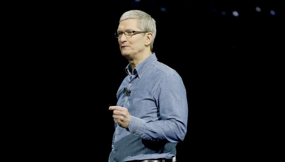 Apple-chefen flaggar för att ta hem vinstmiljarder till USA