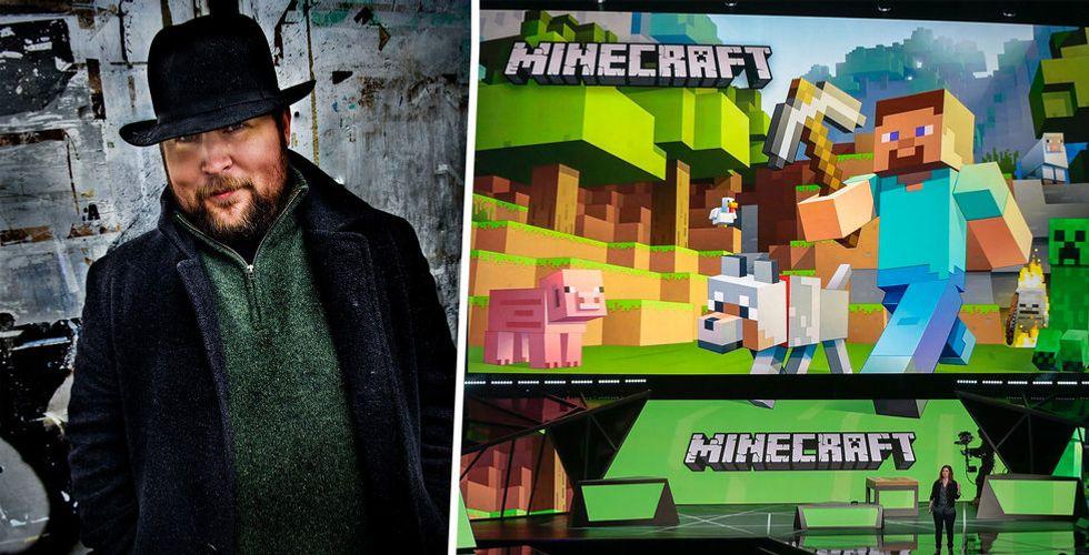 Microsoft ska fira Minecraft – men skaparen är inte välkommen