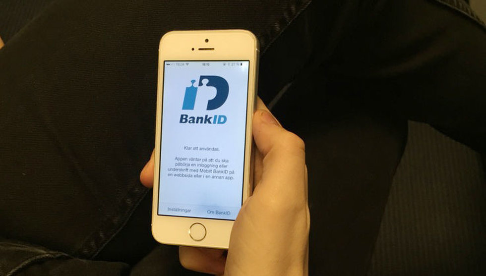 Glöm koden – snart kan du logga in på mobilt Bank-ID med fingret