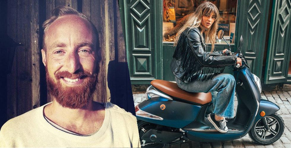 Miljonregn över hans elmoppe – sparkcykel nästa för Vessla?