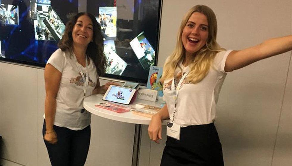 Svenska Peppy Pals prisas - ett av världens främsta sociala företag