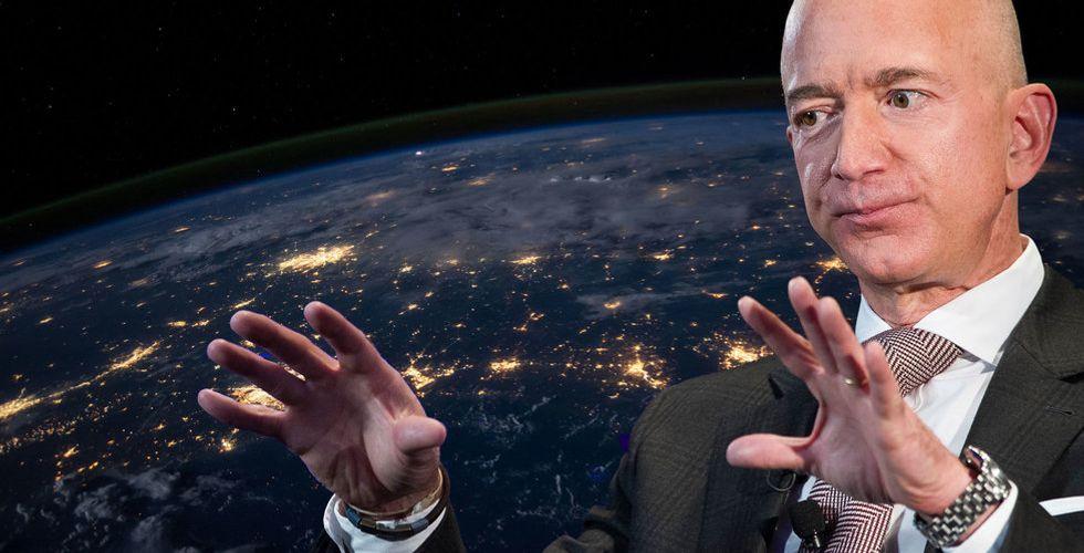 Amazon ger sig in på området för internet via rymden