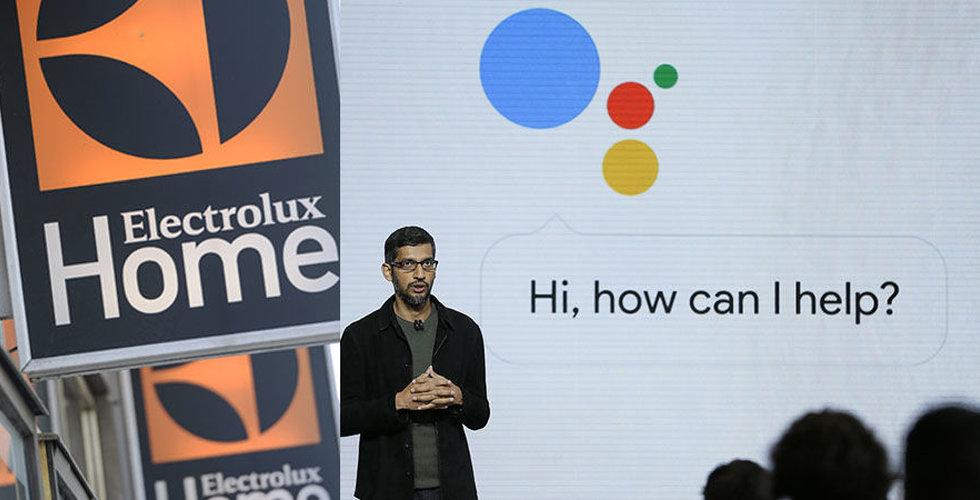 Electrolux ska integrera Google Assistant i köksprodukter