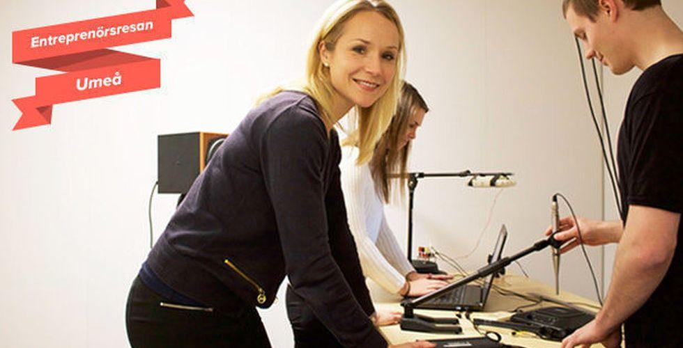 Världen börjar få upp öronen för Umeå-bolagets smarta algoritm