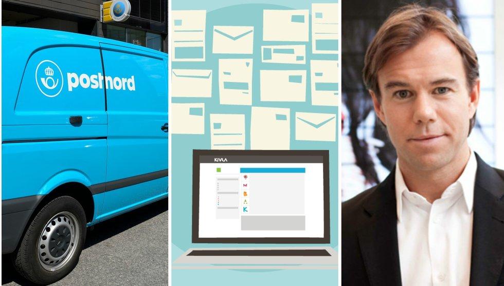 Postnord utmanar Persson och Wallenberg om digital brevlåda