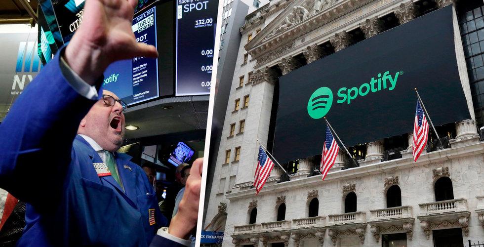 Därför ratar börsens olyckskorpar Spotify