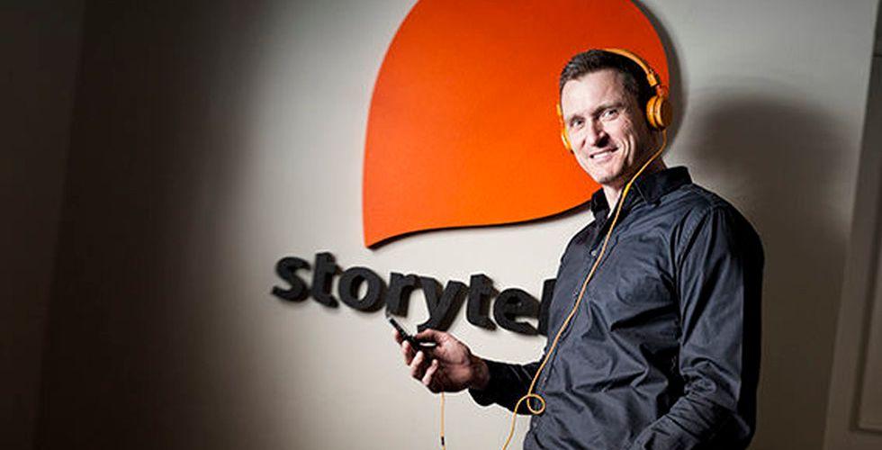 Storytel går som tåget - ökar vinsten med 570 procent