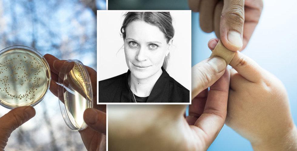 Ilya Pharma tar in 30 miljoner kronor för att läka dina sår
