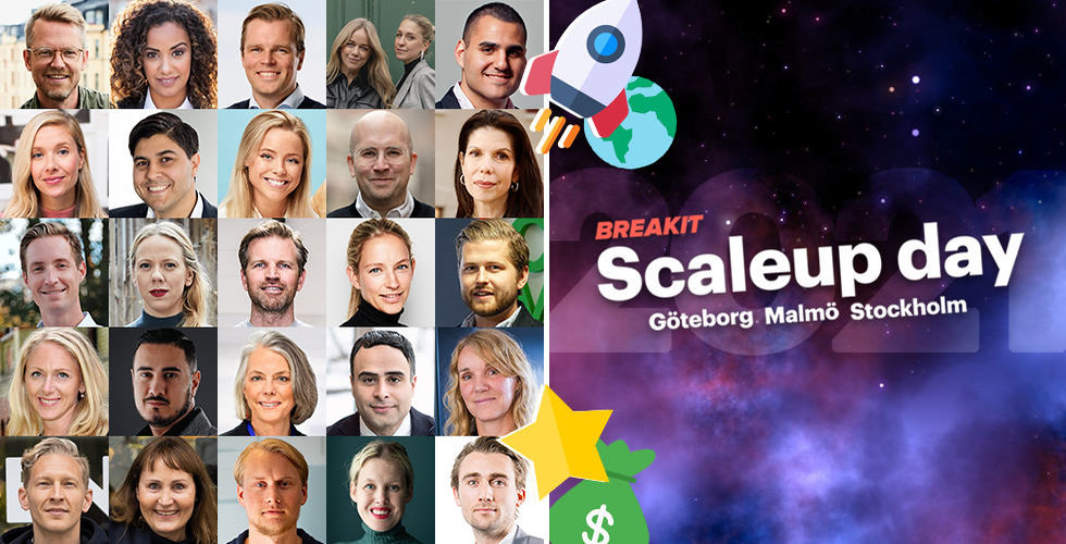 Från tandborstkungar till enhörningar – här är stjärnorna som tar dig från startup till scaleup