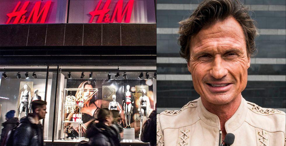 """Petter Stordalen tror på krisande H&M –  """"De kommer att lösa det"""""""