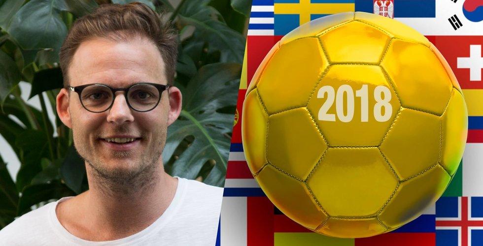 Rusning till svenska appen Forza Football under fotbolls-VM i Ryssland