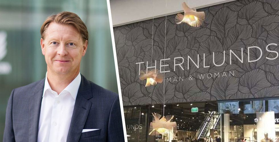 Anrika klädkedjan Thernlunds begärs i konkurs