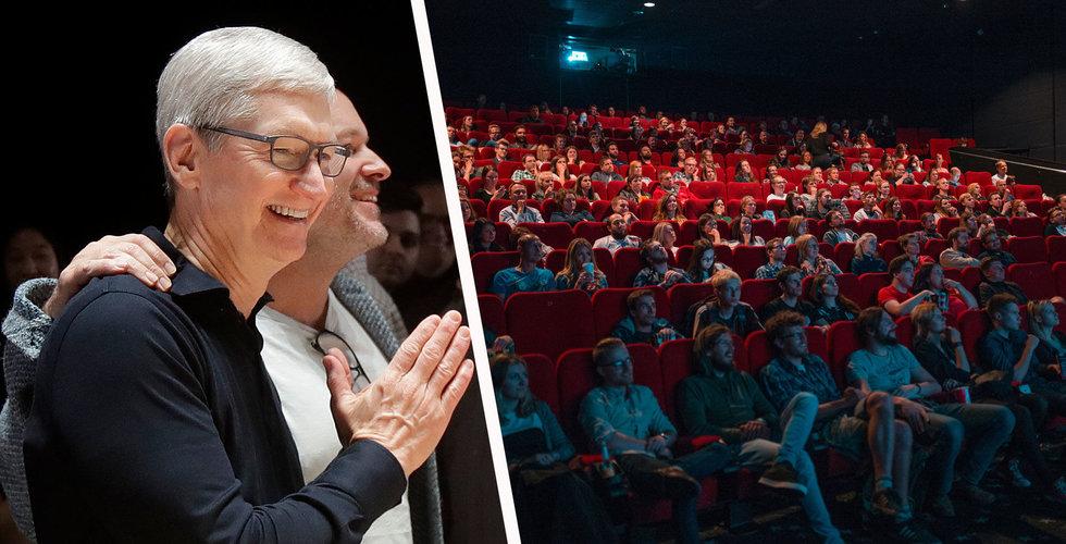 Apple planerar att visa filmer på bio före streamingpremiär