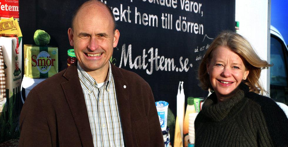 Ny rekordvärdering för Mathem när matkriget på nätet fortsätter