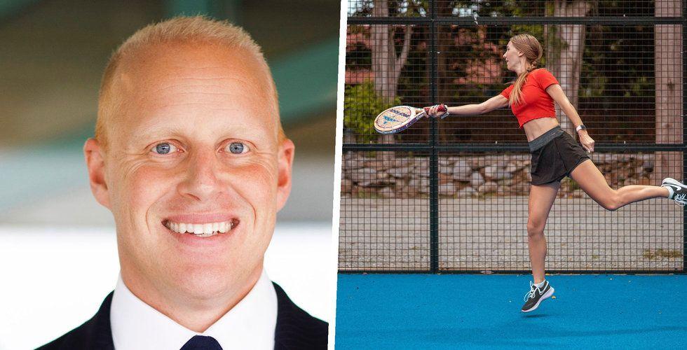 """Henrik Persson Ekdahls nya padelsatsning: """"Äta, träna, sola"""""""