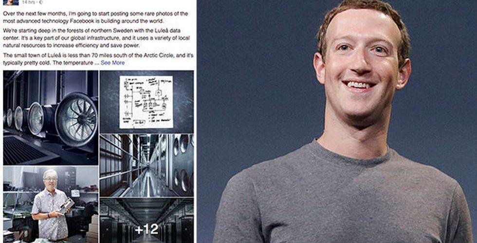 """Mark Zuckerberg: """"Tänk på Luleå när du delar på Facebook"""""""