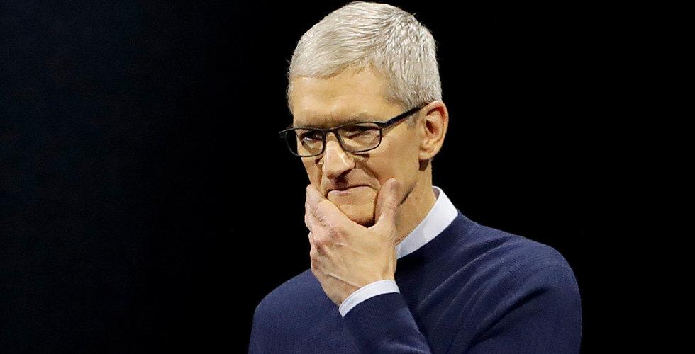 Apple slog förväntningarna efter stark Kina-försäljning