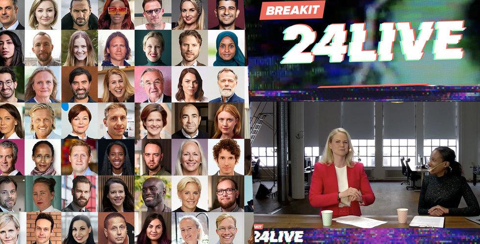 Missade du något från Breakit24Live? Här kan du se allt!