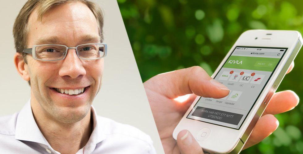 Brevlådan Kivra får in 50 miljoner från H&M-chef och Wallenberg