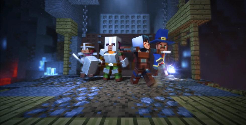 Svenska Mojang har utannonserat Minecraft: Dungeons