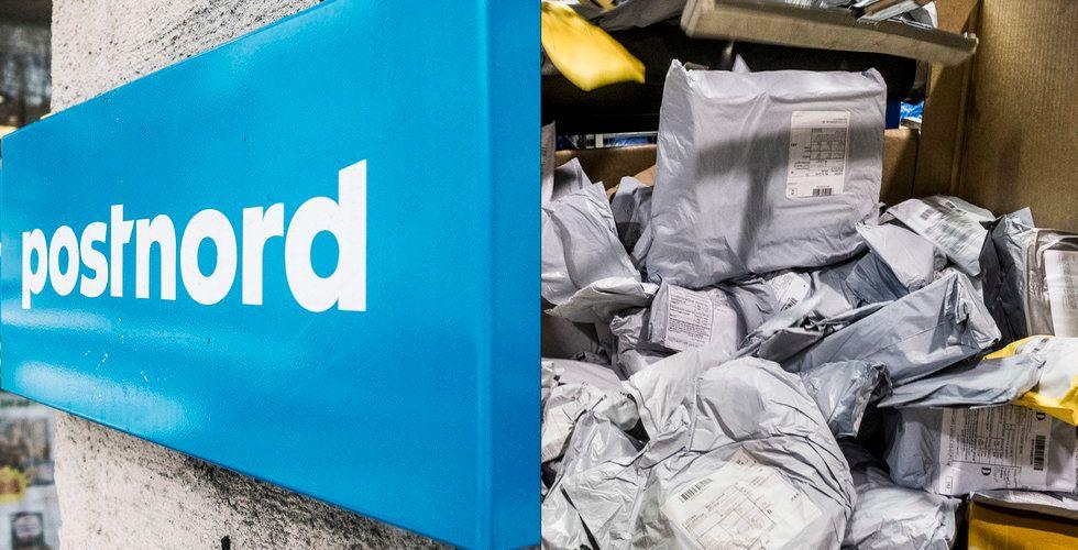 Postnord har fått in miljoner på Kinapaketen – men går ändå med förlust