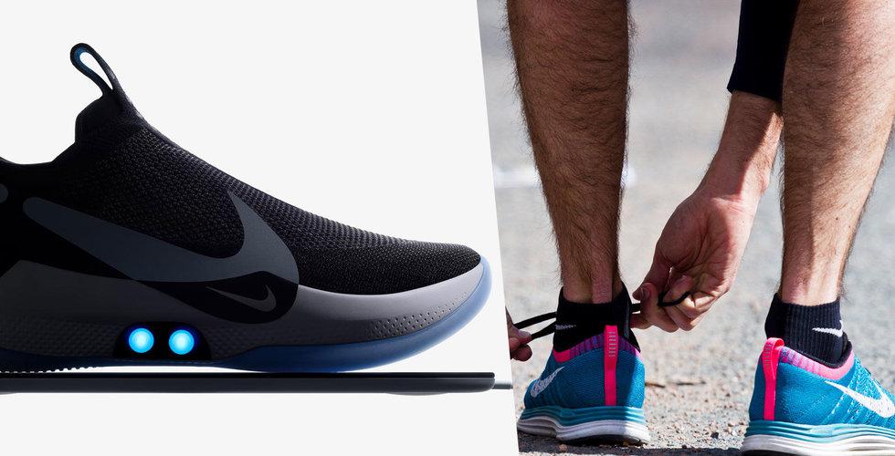 Problem för Nikes självknytande sko – slutar knyta sig själv