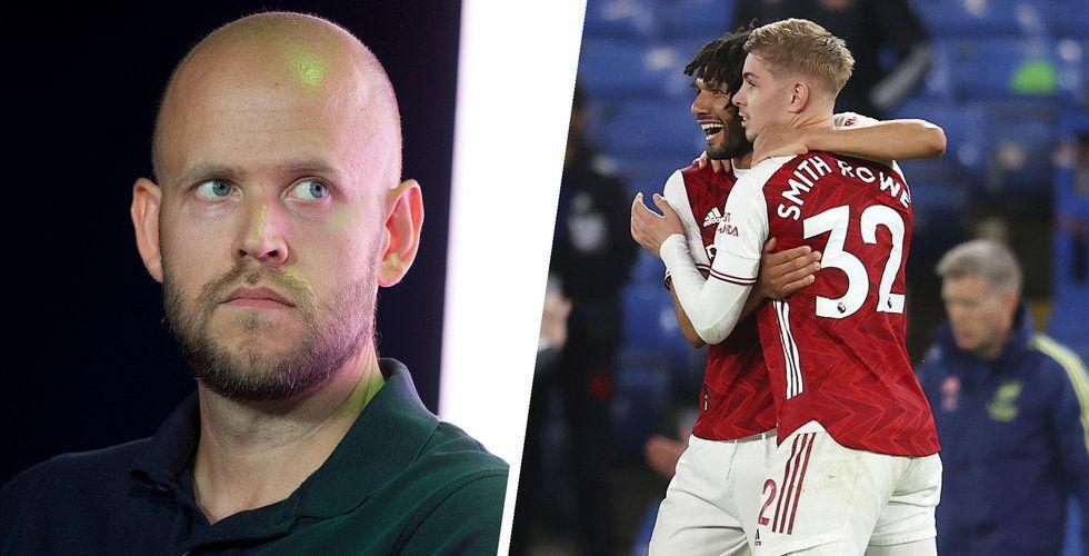 Daniel Ek sägs höja sitt bud på Arsenal