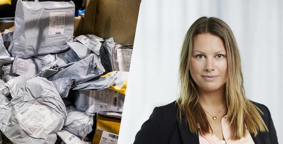 Ny statistik från Postnord: Nu nobbar svenskarna Kina-paketen