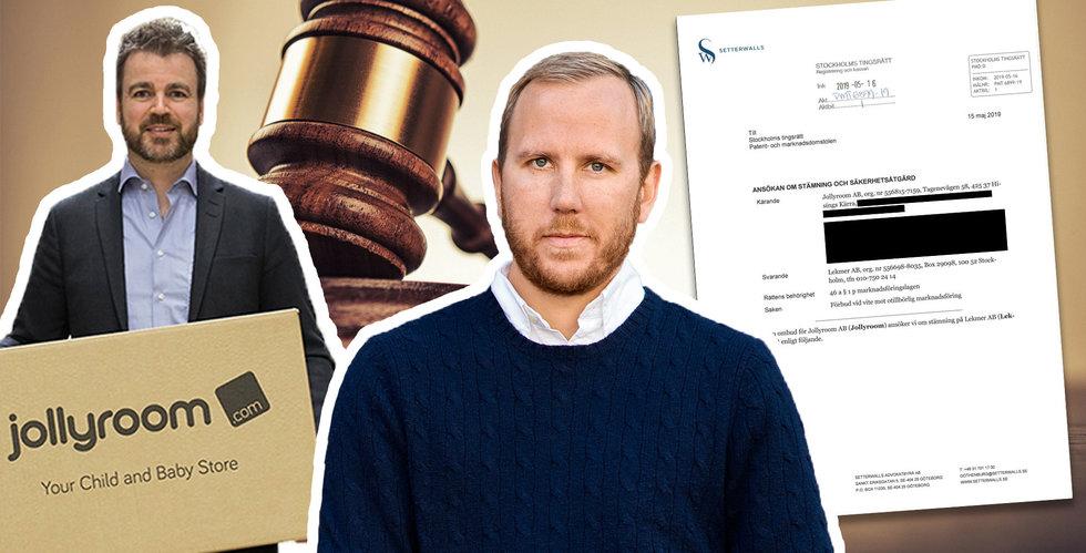 Jollyroom stämmer värsta konkurrenten Lekmer – för bluff-reor
