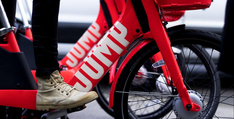 Uber-ägda cykeltjänsten Jump kan ta över San Franciscos gator