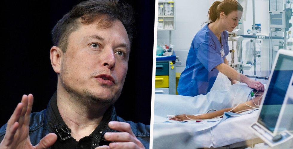 Tesla vill tillverka ventilatorer när New York-fabrik åter öppnar
