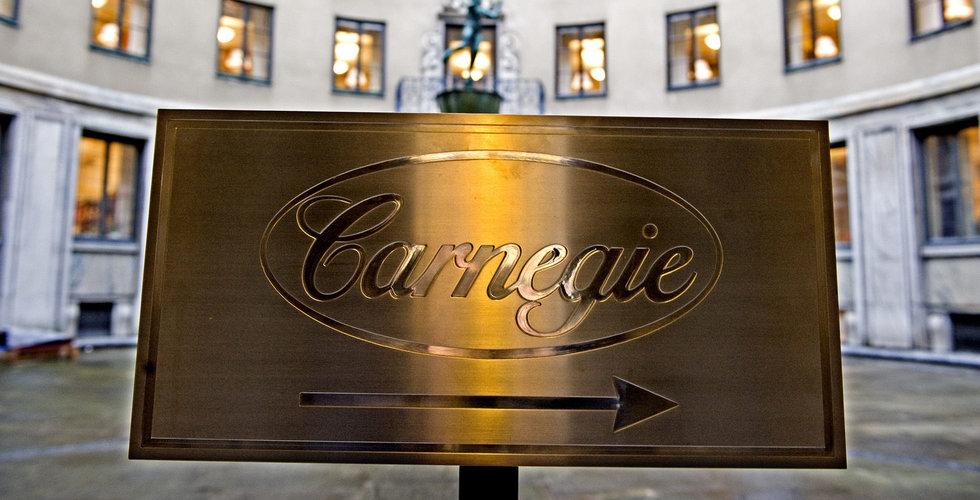 Breakit - Carnegie stödköper i nynoterade Edgeware